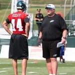 Andy Reid and AJ Feeley (philadelphiaeagles.com)