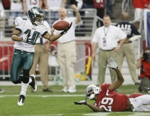Eagles WR DeSean Jackson could see more YAC on short passes.