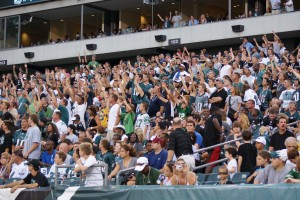 Eagles fans can still get rowdy at Lincoln Financial Field, but it's nothing like the old days in the 700 level at Veteran's Stadium.