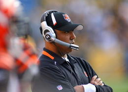 Marvin Lewis demonstrated lackluster time management skills yesterday.