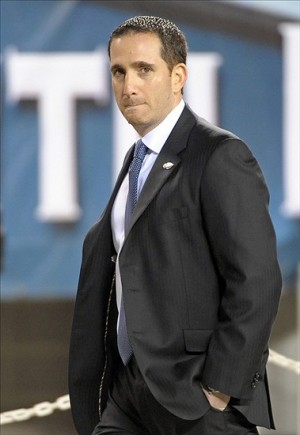 Dec 13, 2012; Philadelphia, PA, USA; Philadelphia Eagles general manager Howie Roseman on the field before the game against the Cincinnati Bengals at Lincoln Financial Field. Mandatory Credit: Eric Hartline-USA TODAY Sports