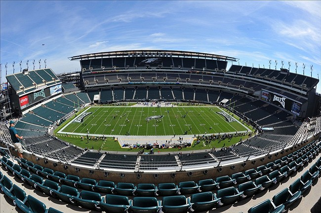 Sep 15, 2013; Philadelphia, PA, USA; General view of Lincoln Financial Field before the game between the Philadelphia Eagles and the San Diego Chargers. Mandatory Credit: Jeffrey G. Pittenger-USA TODAY Sports