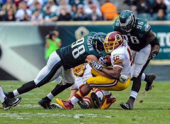 The 2014 NFL schedule release revealed a Week 3 game between the Eagles and the Redskins