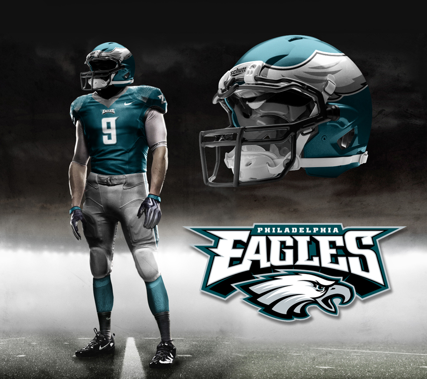 Philadelphia Eagles  Battle of the UniformsNew Eagles Uniforms