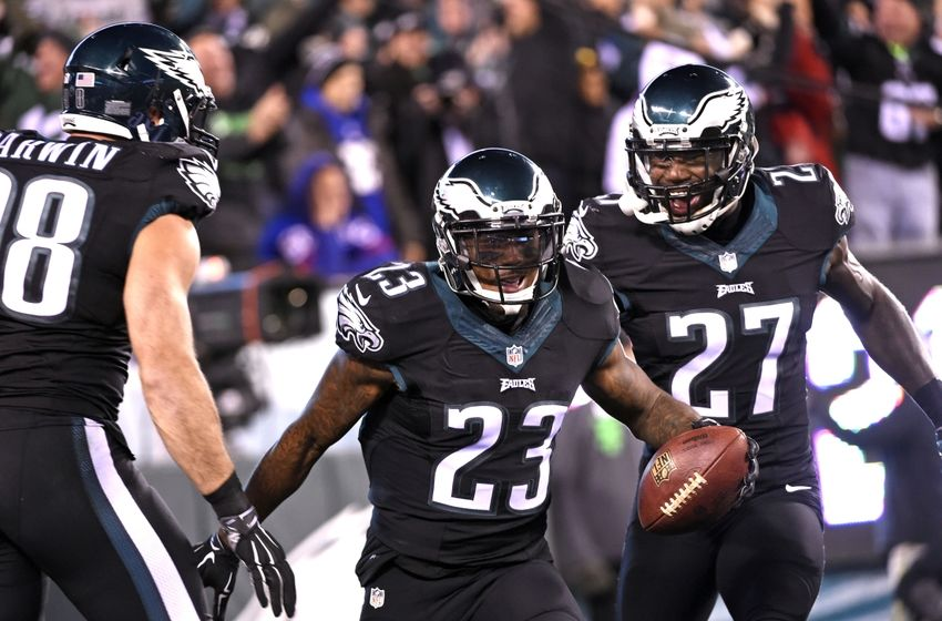 Malcolm jenkins 27 against the new york giants during the second