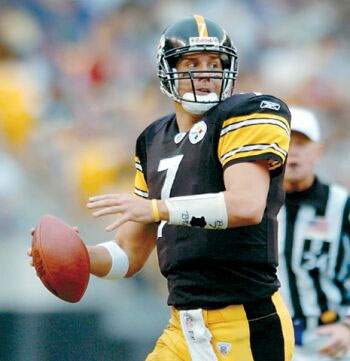 Ben Roethlisberger is everything the Steelers and their fans want in a quarterback. Courtesy fantasygodfathers.com/