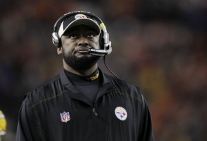 If the Steelers don't win a playoff game or make the playoffs in 2013 it will be the 5th time in 7 years under Tomlin. Image courtesy steelers.com
