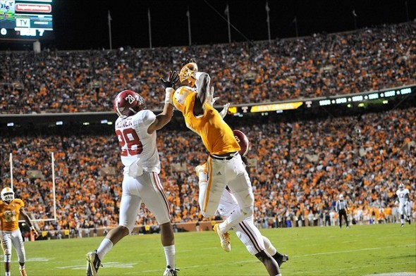 Will the Steelers Select Justin Hunter out of Tennessee