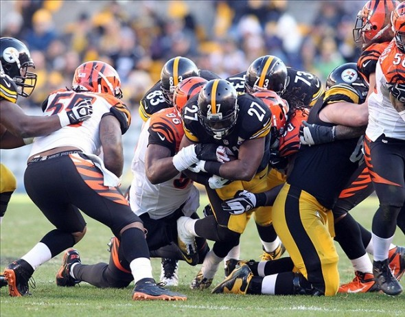 Jonathan Dwyer Ramps Up the Pittsburgh Steelers Run Game