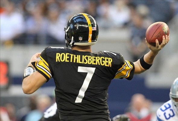 NFL: Ben Roethlisberger of the Pittsburgh Steelers