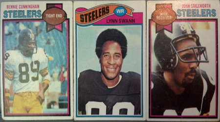Steeler Receiver Greats John Stallworth, Lynn Swann and Bennie Cunningham