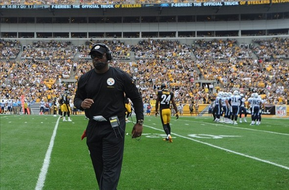 As the Steelers have often done under Tomlin they laid an egg against an inferior Tennessee team last Sunday and lost even after spotted 2 points at home Mandatory Credit: Jason Bridge-USA TODAY Sports