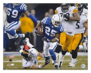 The Colts Nick Harper had 96 yards with only Ben Roethlisberger standing between him and NFL immortality. Courtesy bing images.