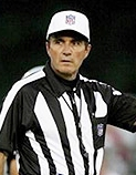 Referee Pete Morelli almost cost the Steelers a SB title by making one of the worst calls ever made in NFL History as he was the only person on the planet who thought Troy Polamalu's interception against the Colts wasn't a pick.