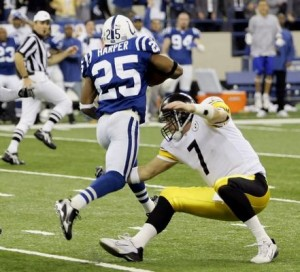 Roethlisberger makes the tackle that is still hard to believe to this day and which propels Pittsburgh to its 5th Super Bowl win. Courtesy bing images.