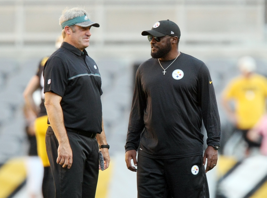 9482475-doug-pederson-mike-tomlin-nfl-preseason-philadelphia-eagles-pittsburgh-steelers