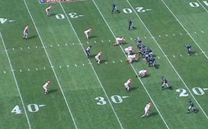 Browns 4-3 Base Defense vs. Four Wide