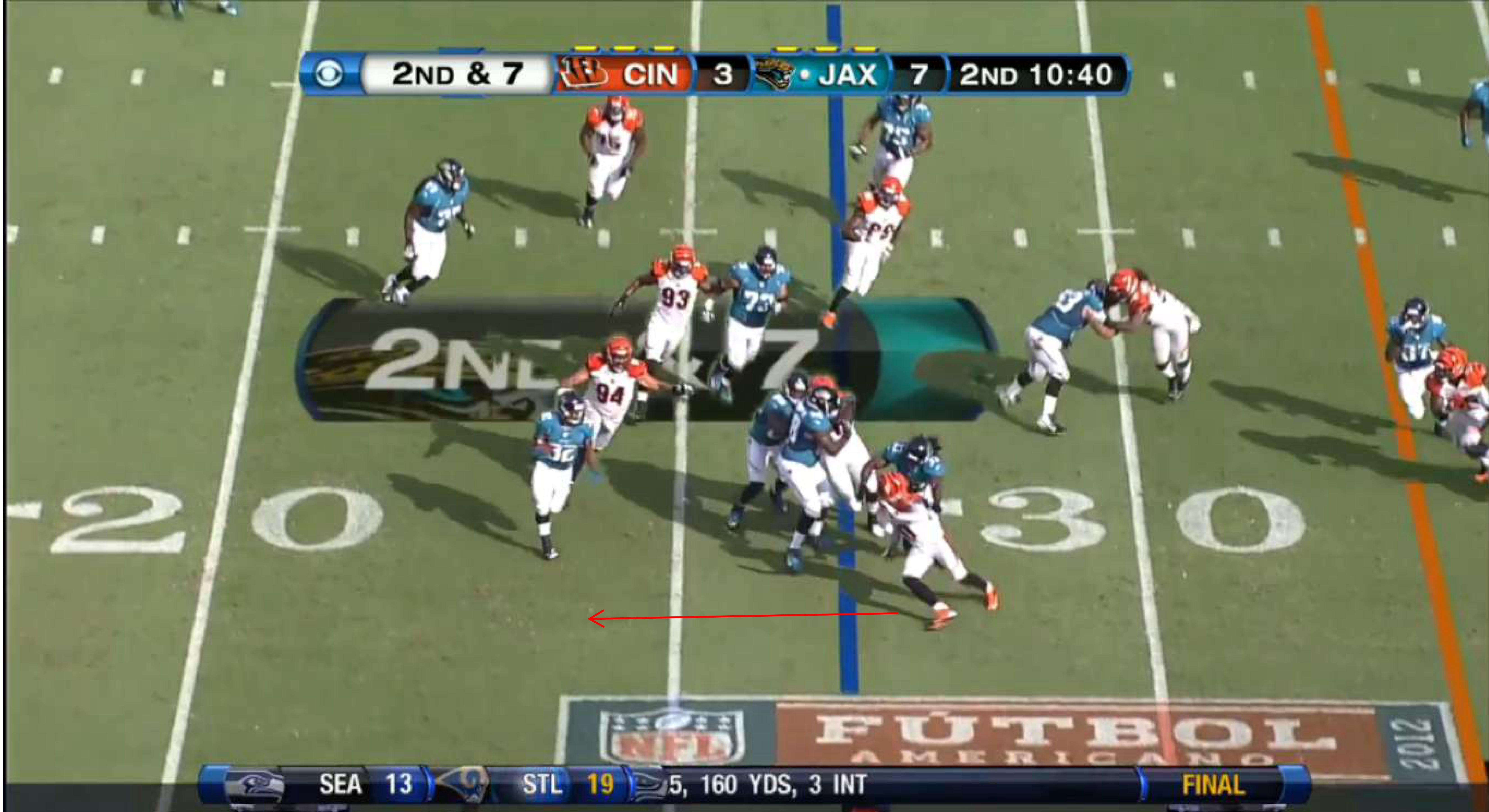 Bengals Vs Jaguars Andy Dalton And Zimmer S Defense Overwhelm