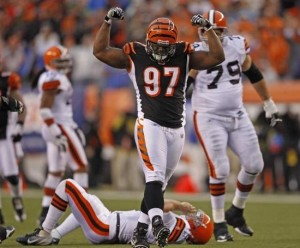 Geno Atkins, DT of the Bengals