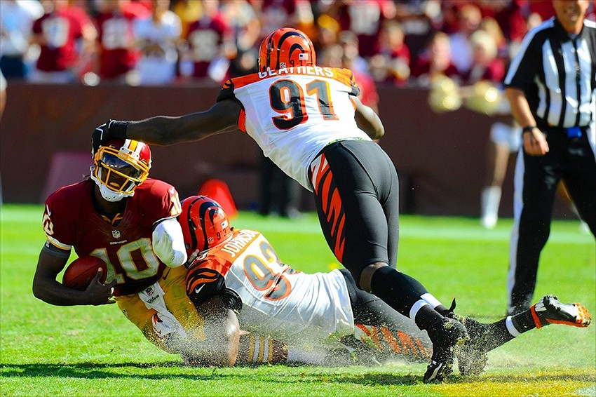 Ed Bernard Wallpapers Cincinnati Bengals name Robert Geathers Ed Block Award winner