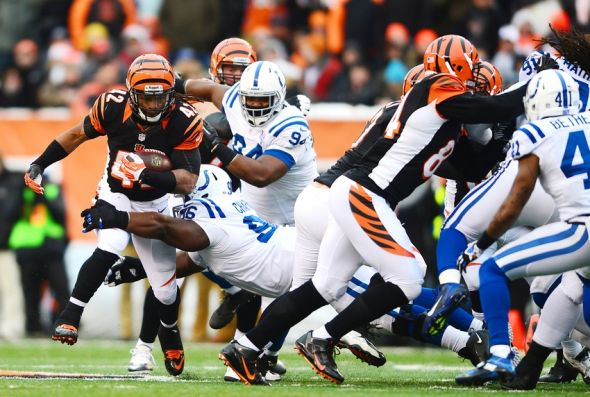 The Bengals will face the Indianapolis Colts at Paul Brown Stadium on Thursday night for their preseason finale. Mandatory Credit: Andrew Weber-USA TODAY Sports