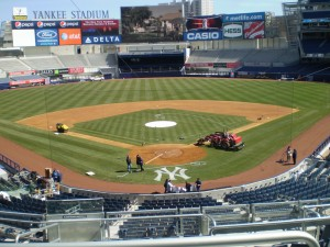 "The new ""intimidating"" Yankee Stadium."