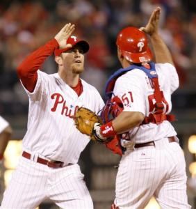 Fans hope to see a lot more of this after Lidge returns from the 15 day DL.