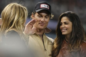 "MCCONAUGHEY AT WORLD SERIES; Millions of viewers wonder, ""who gives a shit?"""