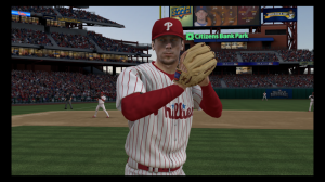 """The SimuLEEtion,"" just announced by EA Sports, will allow players to walk from home plate to the dugout, frustrated with themselves."