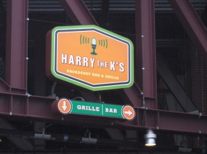 """Harry the K's! Home of several food items."""