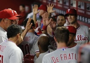Ramble on Phillies (AP Photo/Matt York)
