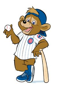 Meet Clark! (Image courtesy of the Chicago Cubs)