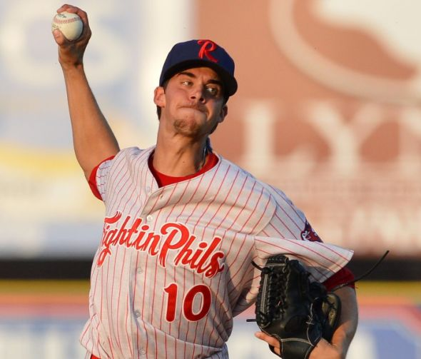 Top Prospect Aaron Nola Missing From Big League Camp