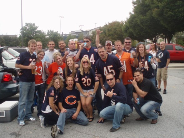 Bears Fans be Like Fellow Chicago Bears Fans