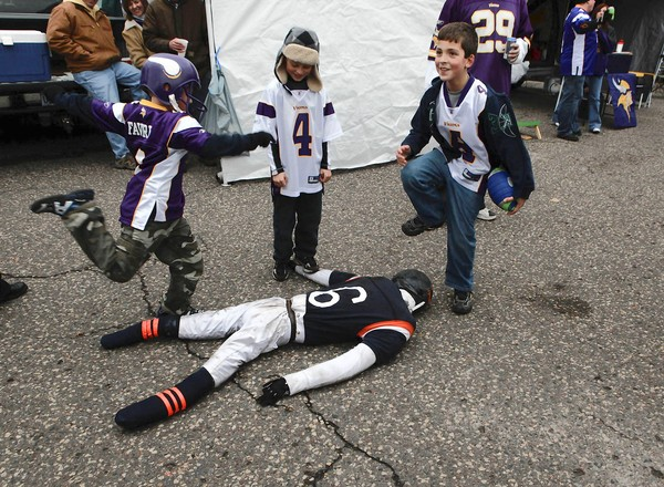 viking fan kids