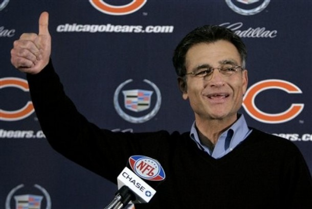 Thumbs up! Jerry Angelo is OUT as Bears GM.