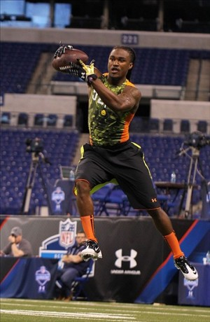 B.W. Webb at the 2013 NFL Combine