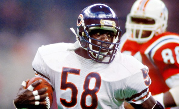 Wilber Marshall at SuperBowl XX (picture courtesy of ESPN.Go.Com)