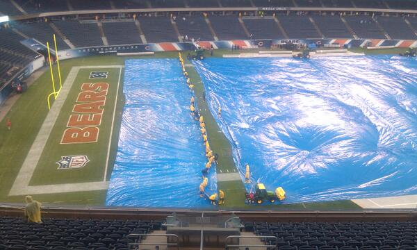 tarp soldier field