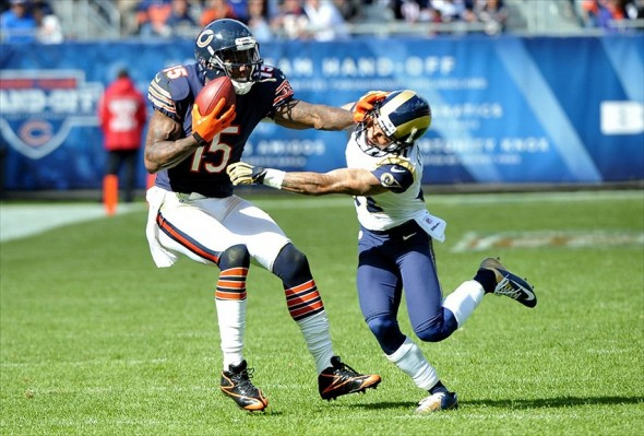Chicago Bears wide receiver Brandon Marshall Mandatory Credit: Rob Grabowski-USA TODAY Sports