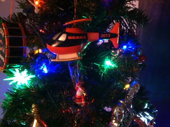 Chicago Bears 2013 Christmas Ornament