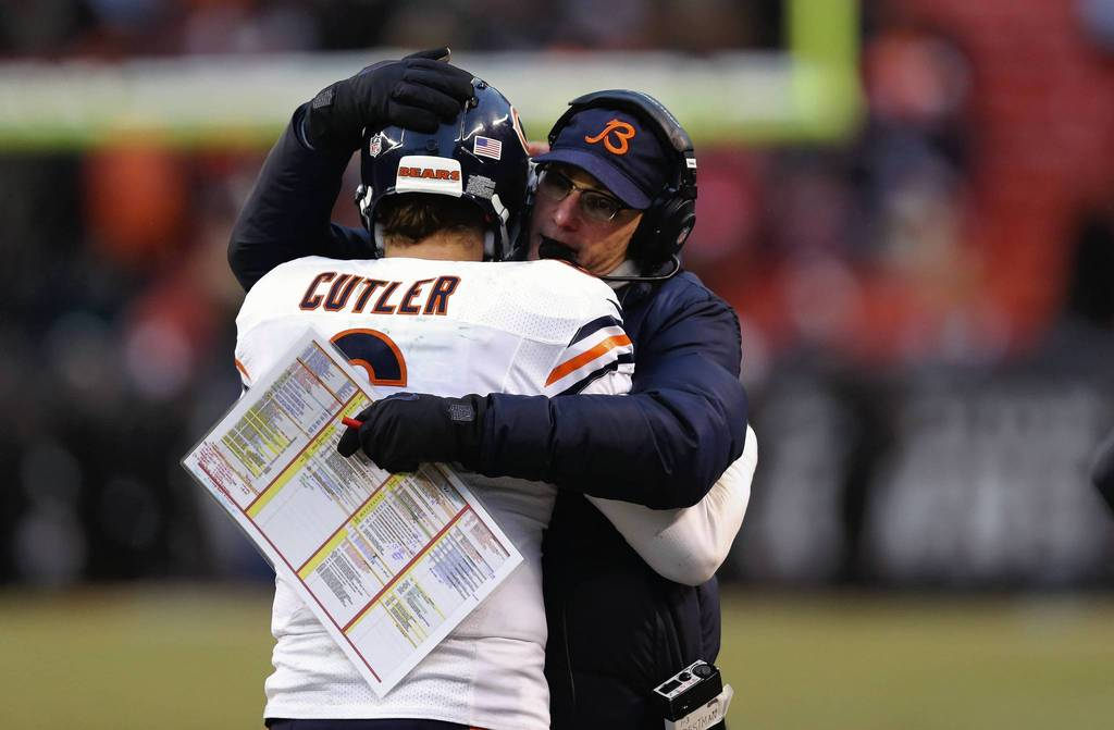 "And a big hug with ""Tress"" when the fist bump isn't enough ((Photo courtesy of Chicago Tribune)"