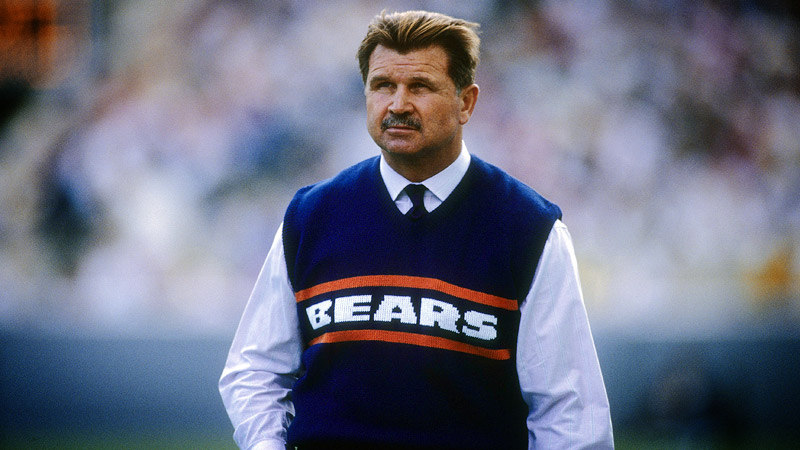 ditka in sweater