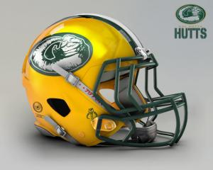 Packers Hutts -star-wars-nfl-helmets