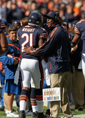 lovie and major wright