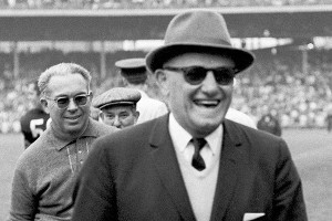 George Halas, Chicago Bears founder, player, coach, owner, and legend. AP Photo/Larry Stoddard