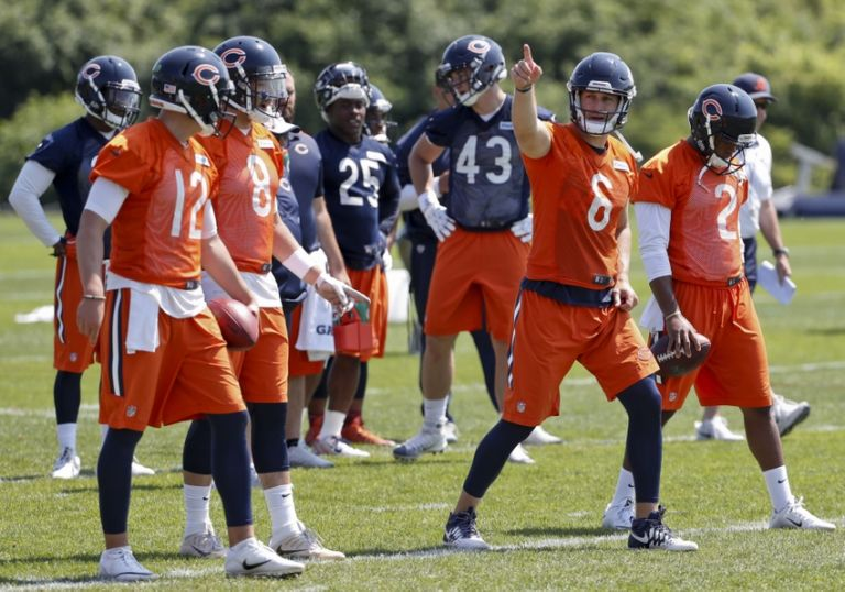 Jay-cutler-david-fales-brian-hoyer-nfl-chicago-bears-minicamp-768x538