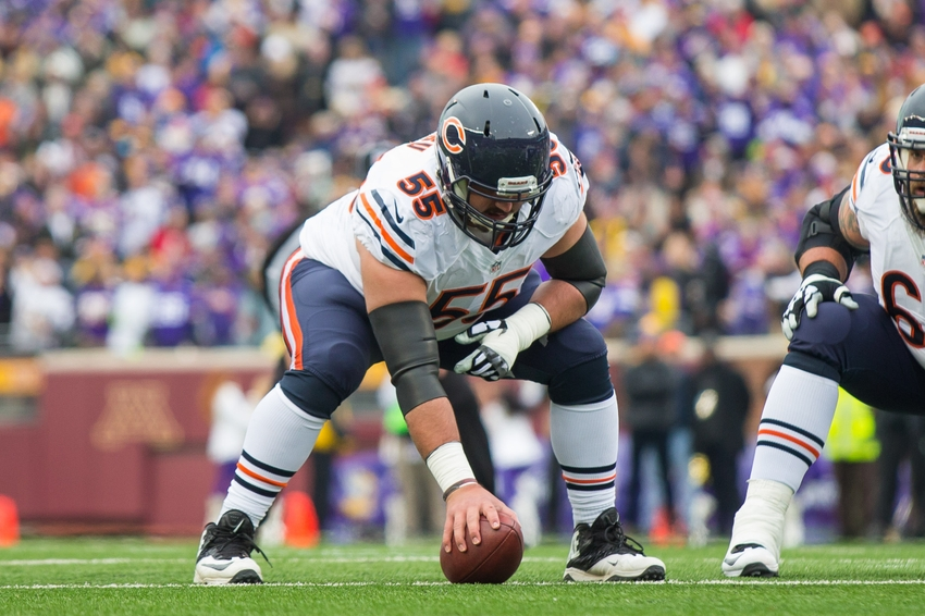 Bears' Hroniss Grasu Will Miss 2016 Season With Torn ACL