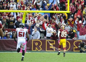 The Redskins' only third down conversion went for six
