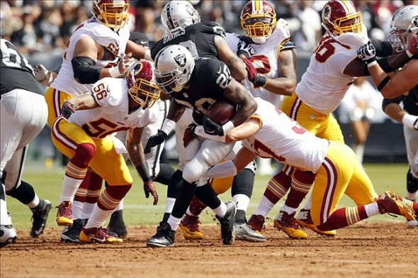 Redskins vs. Raiders